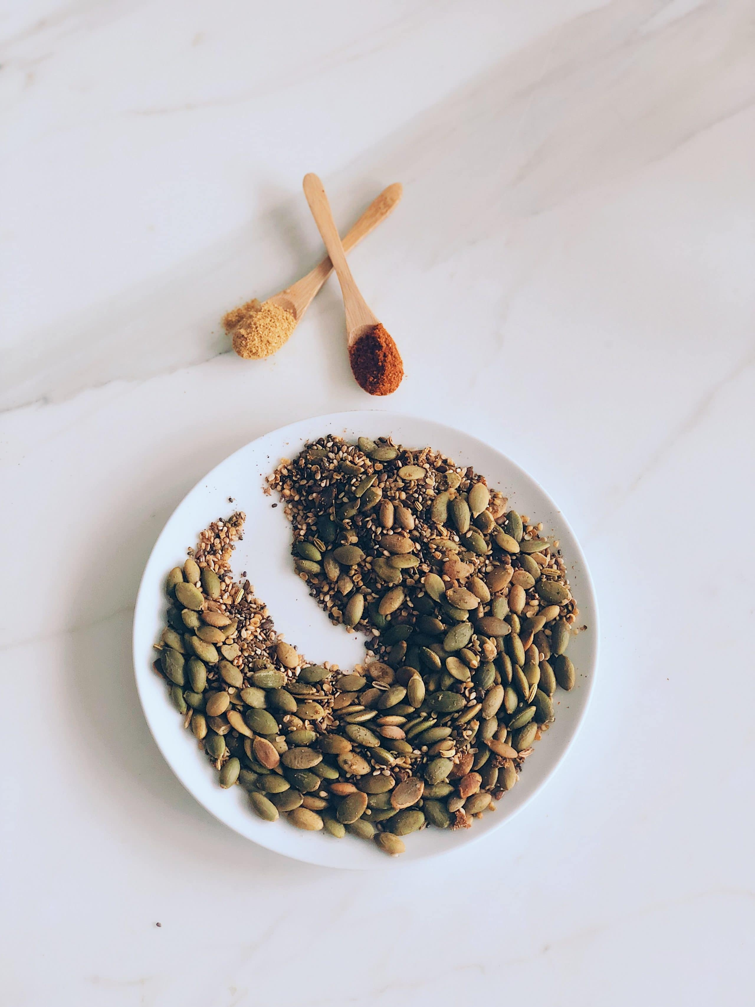 Spice and Seed Mix for Topping The Detox Soups – Or Really Any Soup Or Salad