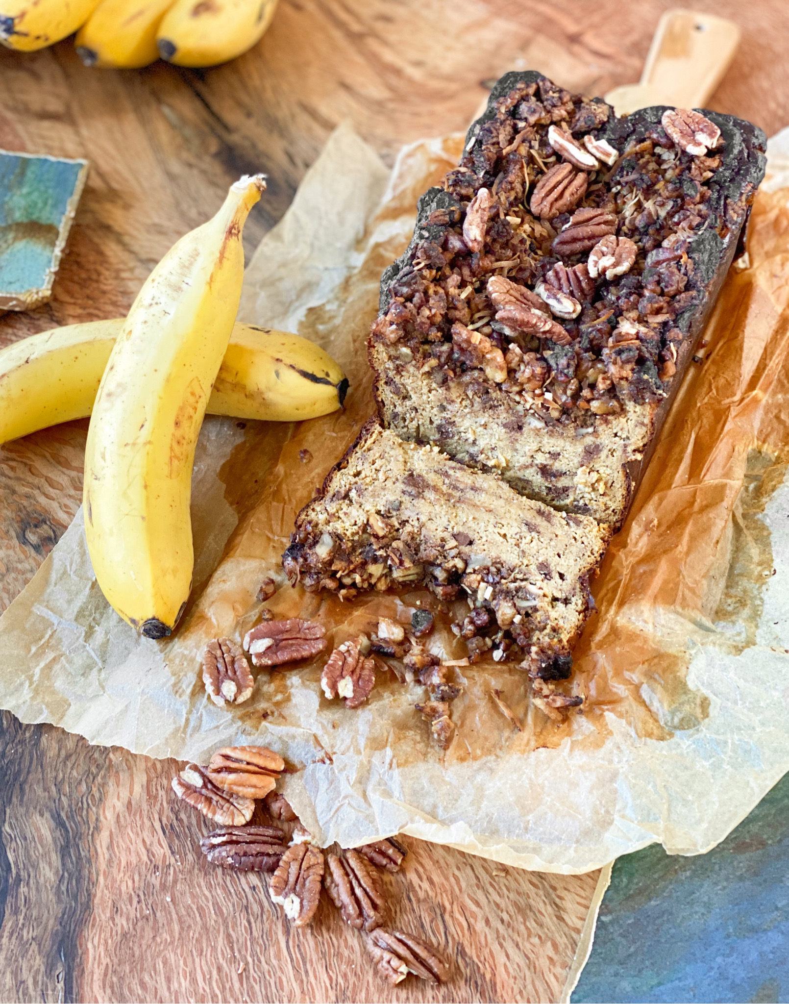 New Technique: Seared Banana Bread