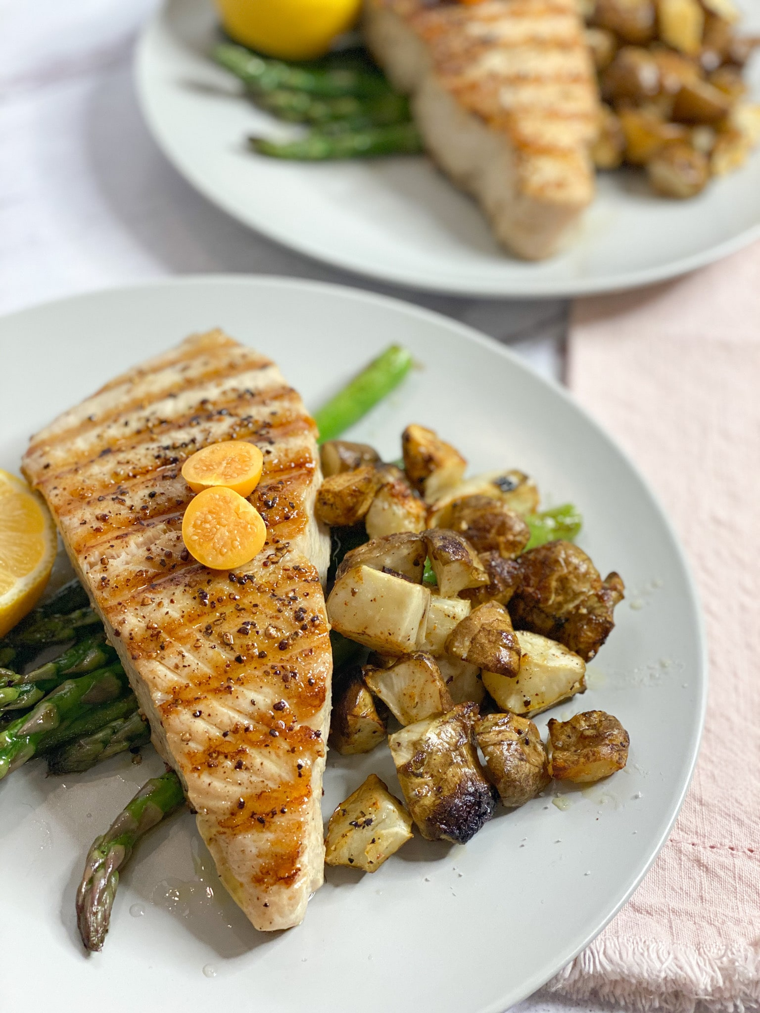 7 Ingredient Dinner: Opah Fish with Sunchokes and Asparagus