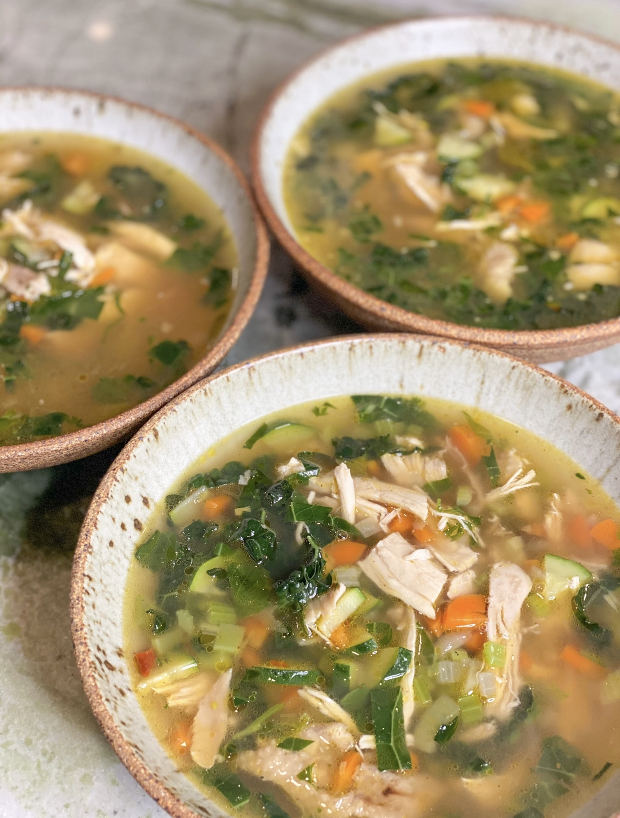 Hearty Chicken Vegetable Soup