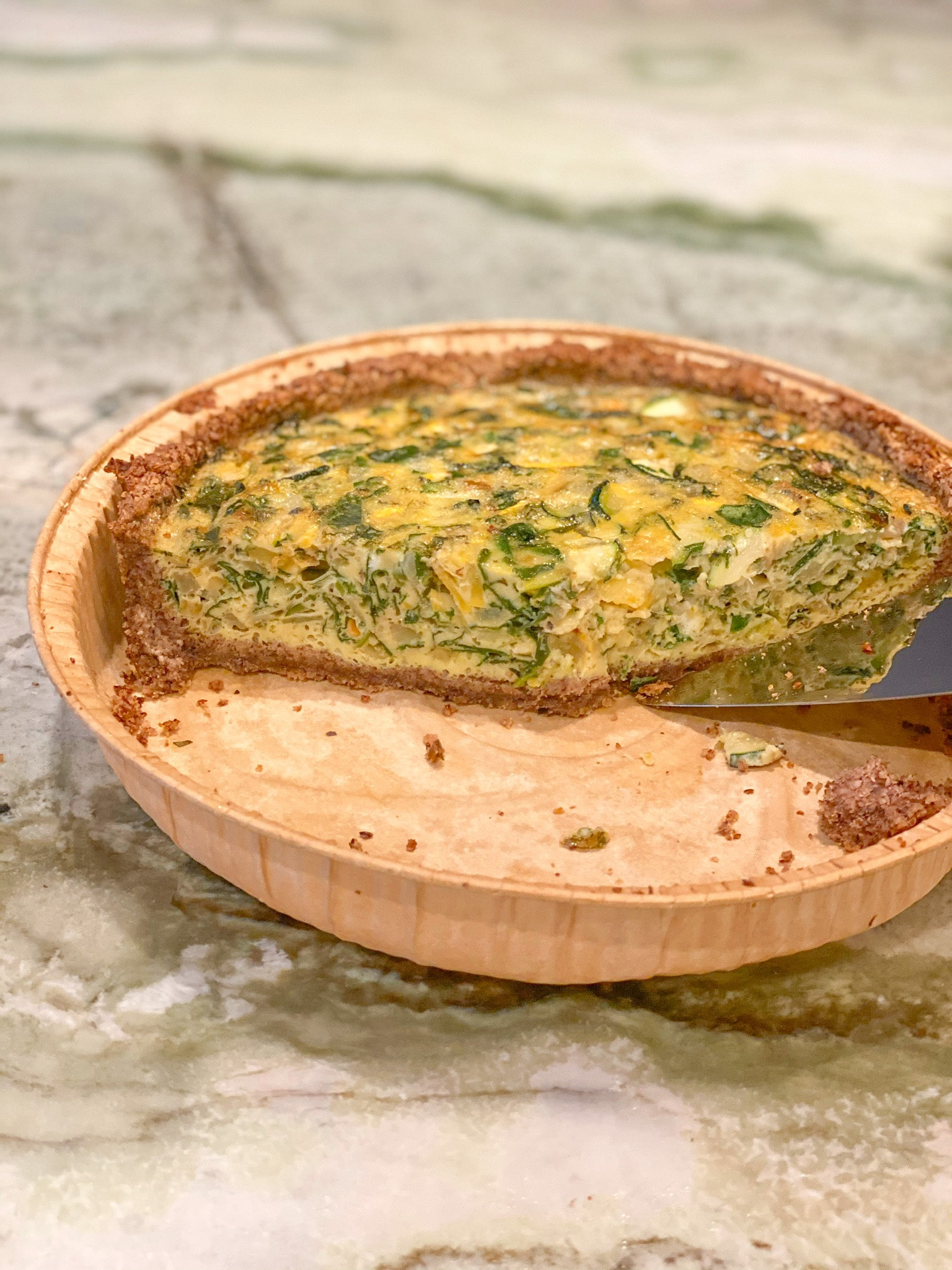 Easy Easter Quiche