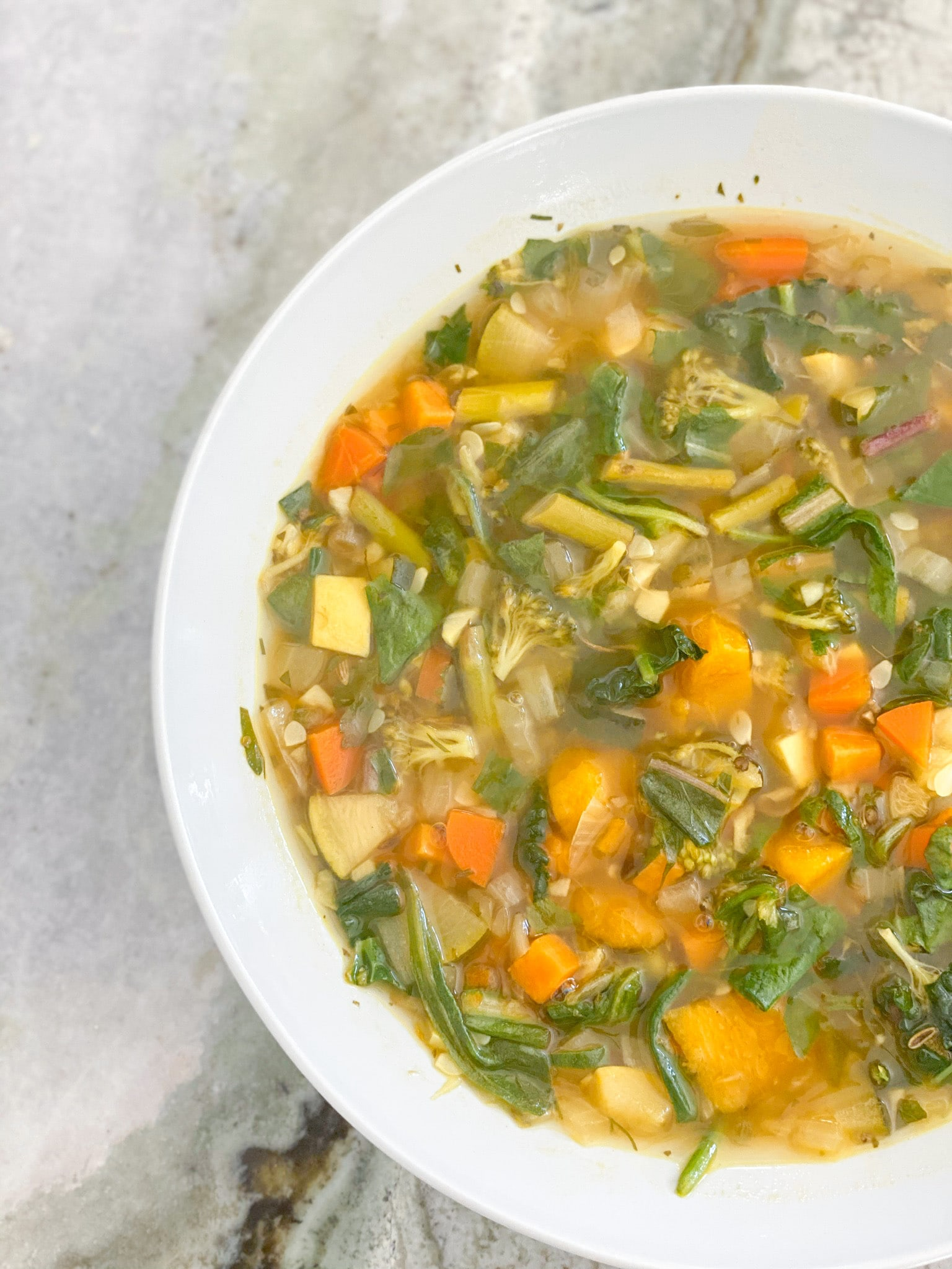 The Yummiest Vegetable Soup